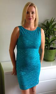 Susan in a dress
